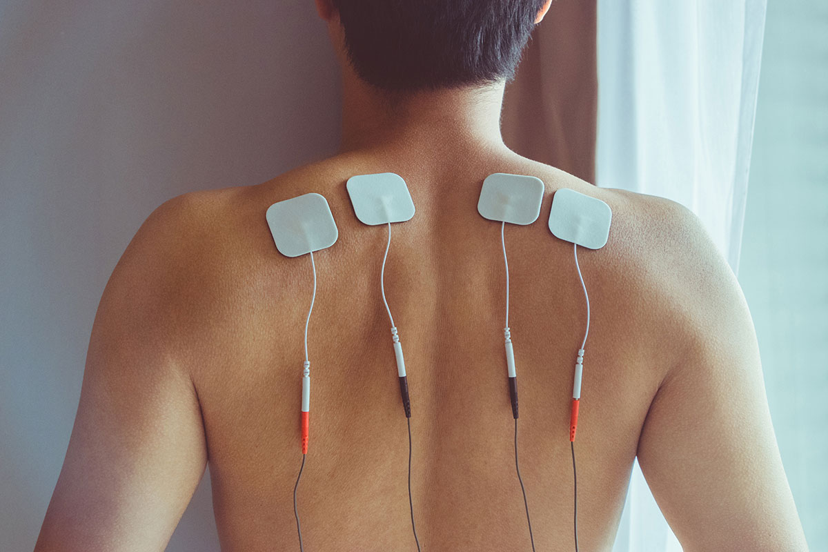 wrong way to use TENS for back pain